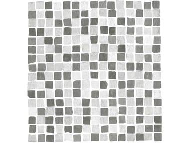 Mosaico in gres porcellanato THE ONE | Mosaico mix Silver