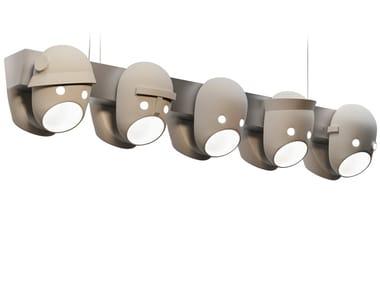 Lampada a sospensione a LED a luce diretta in ceramica THE PARTY | Lampada a sospensione