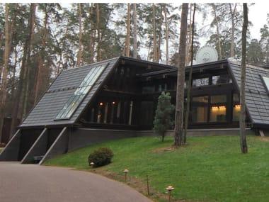 Rivestimento di facciata con elementi modulari metallici THE SKIN SISTEMA LARES