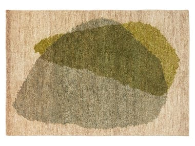 Handmade rectangular jute rug THEO