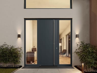 Energy-saving entry door THERMOSAFE HYBRID