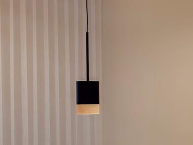 LED steel pendant lamp THIRD