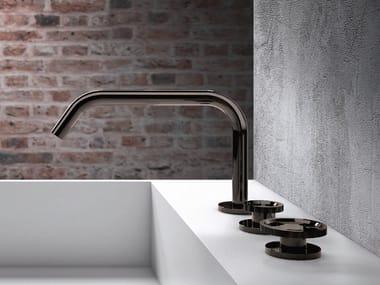 3 hole countertop washbasin tap without waste TIBÒ - TIB12