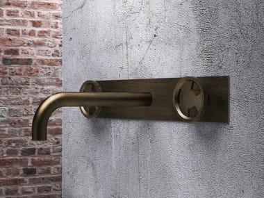 3 hole wall-mounted washbasin tap without waste TIBÒ - TIB57
