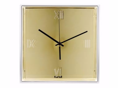 Wall-mounted ABS clock TIC&TAC