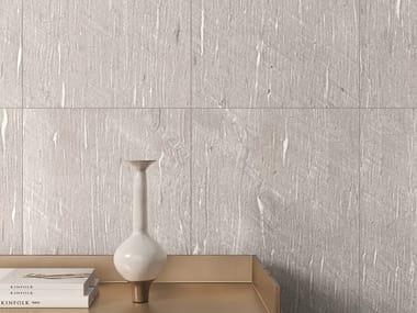 Pavimento/rivestimento in gres porcellanato effetto pietra per interni ed esterni TIDE ROAD PLATINUM VEIN