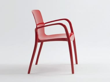 Nylon® chair with armrests TIFFANY | Chair with armrests