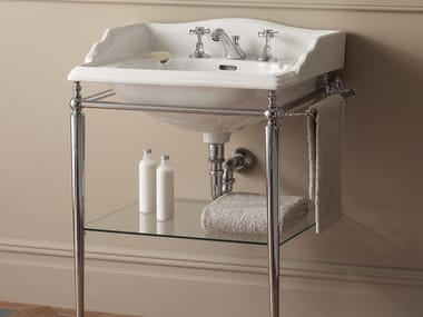 Chromed brass console sink TIFFANY   Console sink