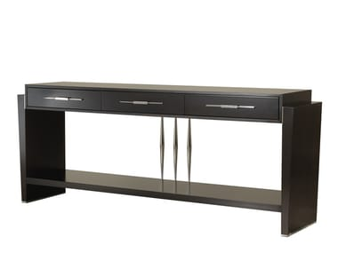 Rectangular console table with drawers TIFFANY