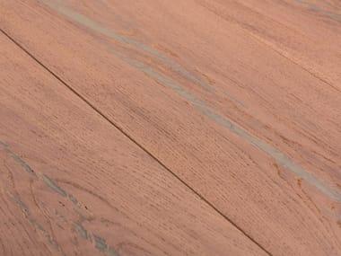 Oak flooring TIGER OAK GOLD - WHITE OIL