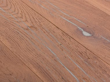 Oak flooring TIGER OAK SILVER - WHITE OIL