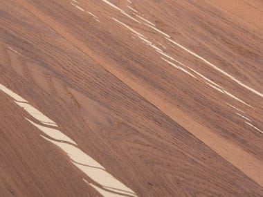 Oak flooring TIGER OAK WHITE - WHITE OIL