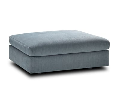 Upholstered rectangular pouf TIGRA DIVANBASE | Pouf