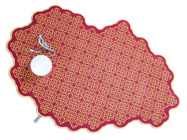Wool rug TILES 003
