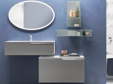 Wall-mounted vanity unit TIME POINT
