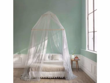 Canopy mosquito net TINA  LIMITED EDITION LUREX SILVER