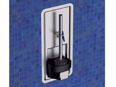 Wall-mounted stainless steel toilet brush TINO