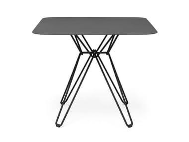 Square metal table TIO | Square table
