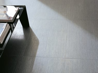 Flooring with metal effect TISSUE