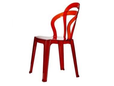 Polycarbonate chair TITÌ