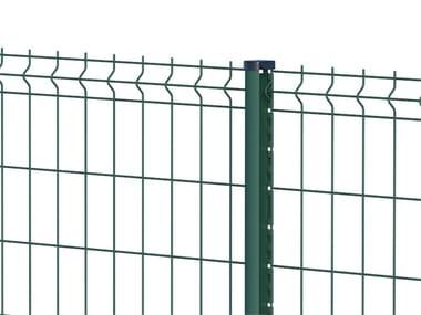 Palo sagomato per recinzioni metalliche TITAN