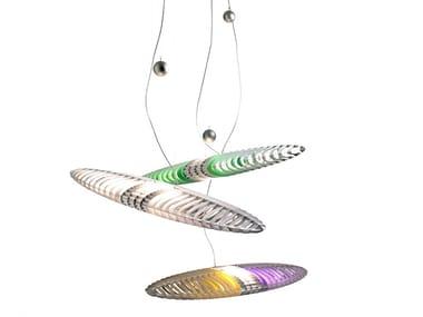 Luminária pendente LED de alumínio TITANIA | Luminária pendente
