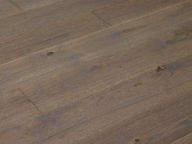 Brushed oak parquet TITANIO