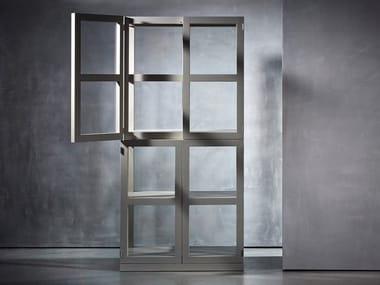 Wooden display cabinet TJERK