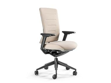 Cadeira operativa reclinável de tecido de 5 raios TNK FLEX | Cadeira operativa de tecido