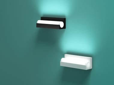 LED aluminium wall light TNT