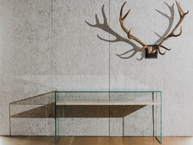 Rectangular crystal console table TO FLOAT FROM GRACE