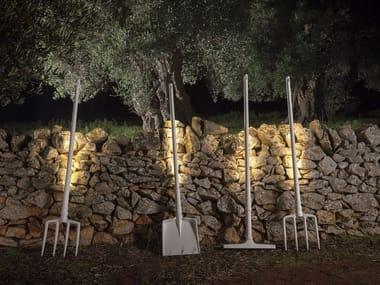 Lampadaire LED en technopolymère TOBIA