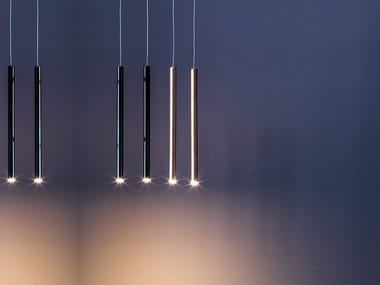 LED metal pendant lamp TOBY