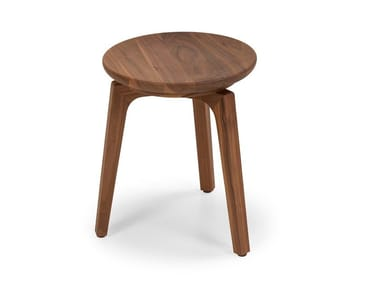 Low solid wood stool TOD | Stool