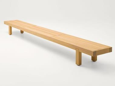 Cedarwood garden bench TOKU | Garden bench