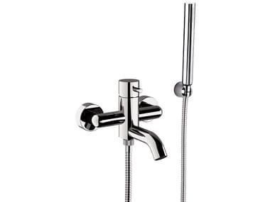 2 hole external brass bathtub mixer with diverter TOKYO | Bathtub mixer with hand shower