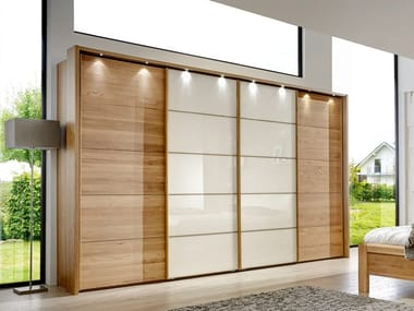 Wardrobe with sliding doors TOLEDO | Wardrobe