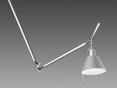 Swivel aluminium pendant lamp TOLOMEO DECENTRATA SUSPENSION | Aluminium pendant lamp