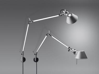 Lámpara de pared de aluminio con luz directa TOLOMEO WALL | Lámpara de pared