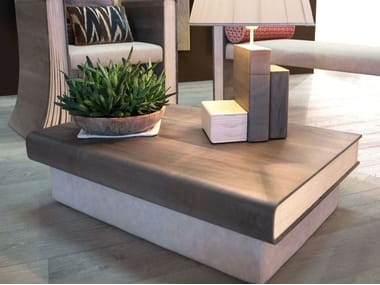 Wooden coffee table for living room TOMI DE LEGN | Coffee table