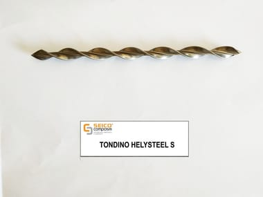 Steel bar, rod, stirrup for reinforced concrete TONDINO HELYSTEEL S®