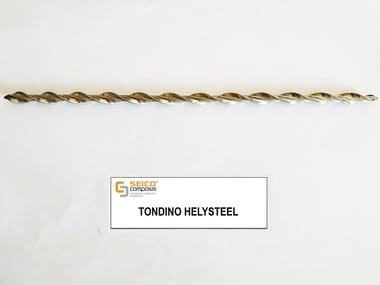 Steel bar, rod, stirrup for reinforced concrete TONDINO HELYSTEEL®