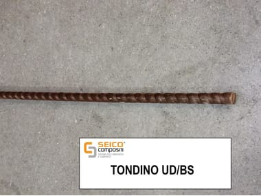 Steel bar, rod, stirrup for reinforced concrete TONDINO UD/BS®
