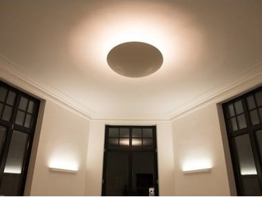 Cement Based Materials Ceiling Lamps