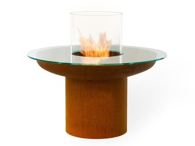 Fireplace / coffee table TONDO TABLE