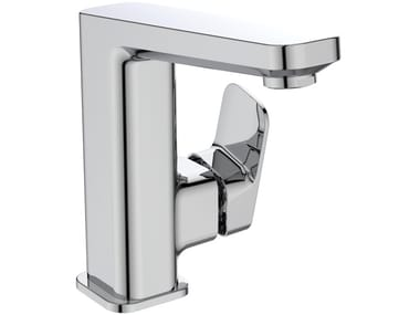 Countertop single handle washbasin mixer with temperature limiter TONIC II 135 mm - A6332