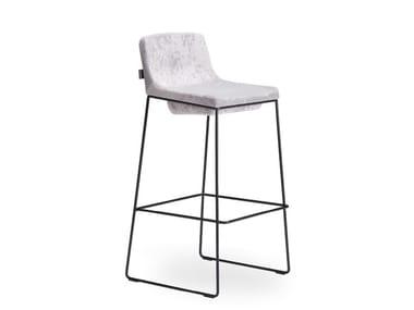 High steel barstool TONIC METAL | Steel stool