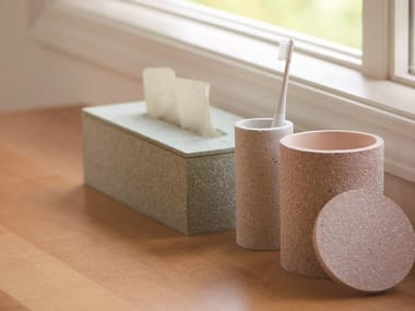 Countertop Diatomaceous earth toothbrush holder TOOTHBRUSH STAND