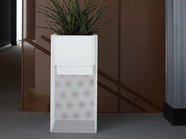 Portavaso alto in acciaio inox con irrigazione automatica TOP | Portavaso alto