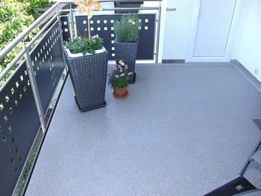 Outdoor floor tiles TOPERO® EXTRUDED SHEET MAXI